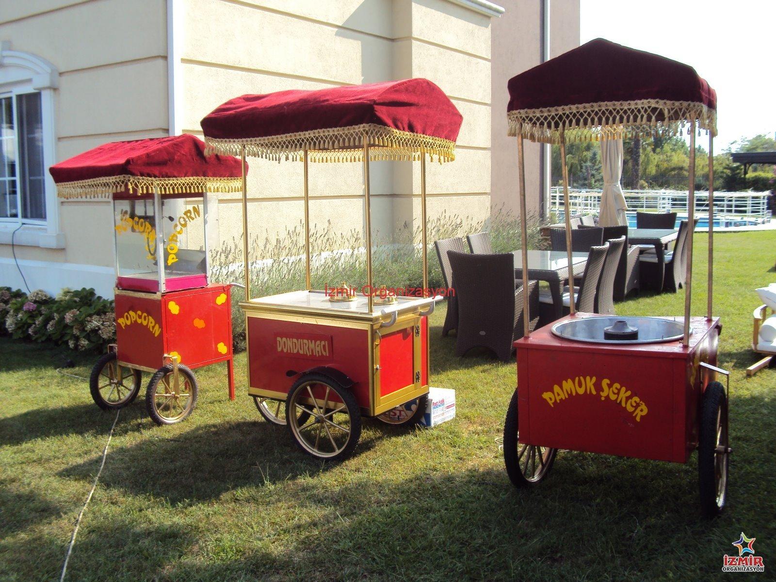 Animasyonlu Yiyecek İkramları İzmir Organizasyon